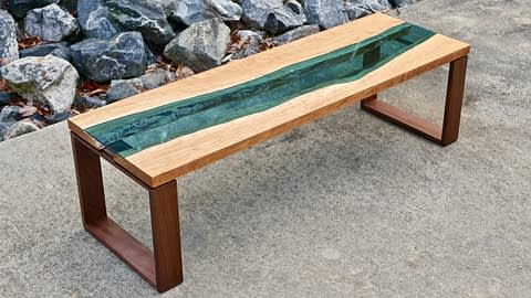 Glass River Table