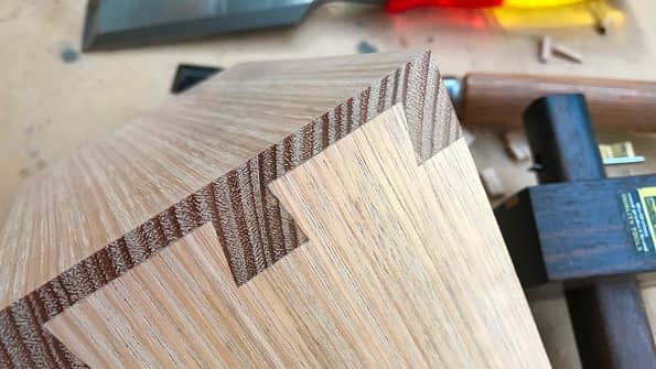 Close up Of Crisp Dovetail