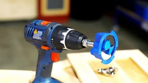 Screwdriver With Kreg Jig